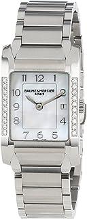 Baume & Mercier - MOA10051 Reloj de Cuarzo de Acero Inoxidable con Esfera de nácar para Mujer