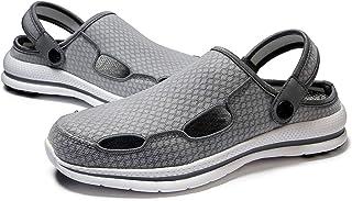 Men's Slippers Garden Clogs Lightweight Outdoor Beach Sandals for Walking
