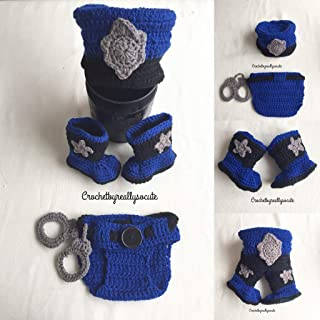 Newborn Police Outfit - Baby Police Outfit - Newborn Police Officer - Baby  Police Officer - 7266984b9d1e