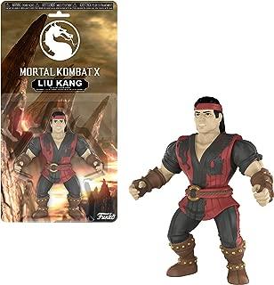 Funko Liu Kang x Mortal Kombat Mini Action Figure + 1 Video Games Themed Trading Card Bundle