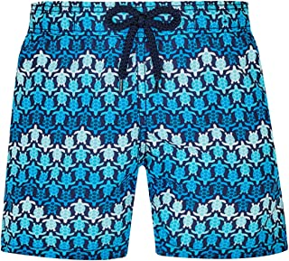 Vilebrequin - Boys - Swimwear Herringbones Turtles