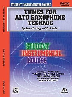 Tunes for Alto Saxophone Technic, Level II: Student Instrumental Course