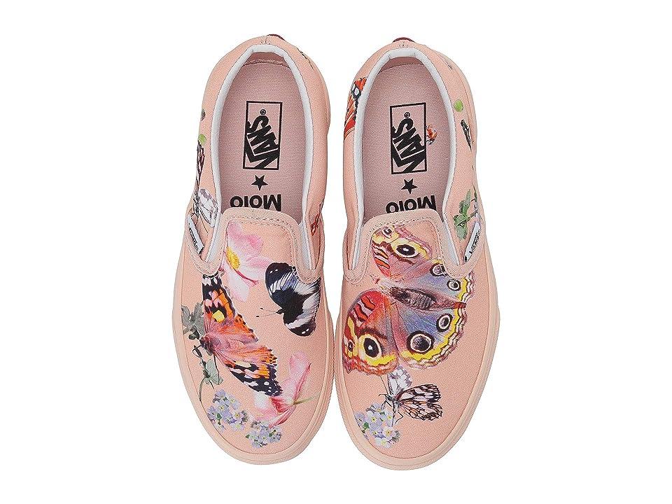 Vans Vans X Molo Classic Slip-On (Little Kid/Big Kid) (Molo Butterflies) Athletic Shoes