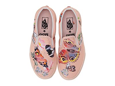 Vans Vans X Molo Classic Slip-On (Little Kid/Big Kid) (Molo Butterflies) Athletic Shoes