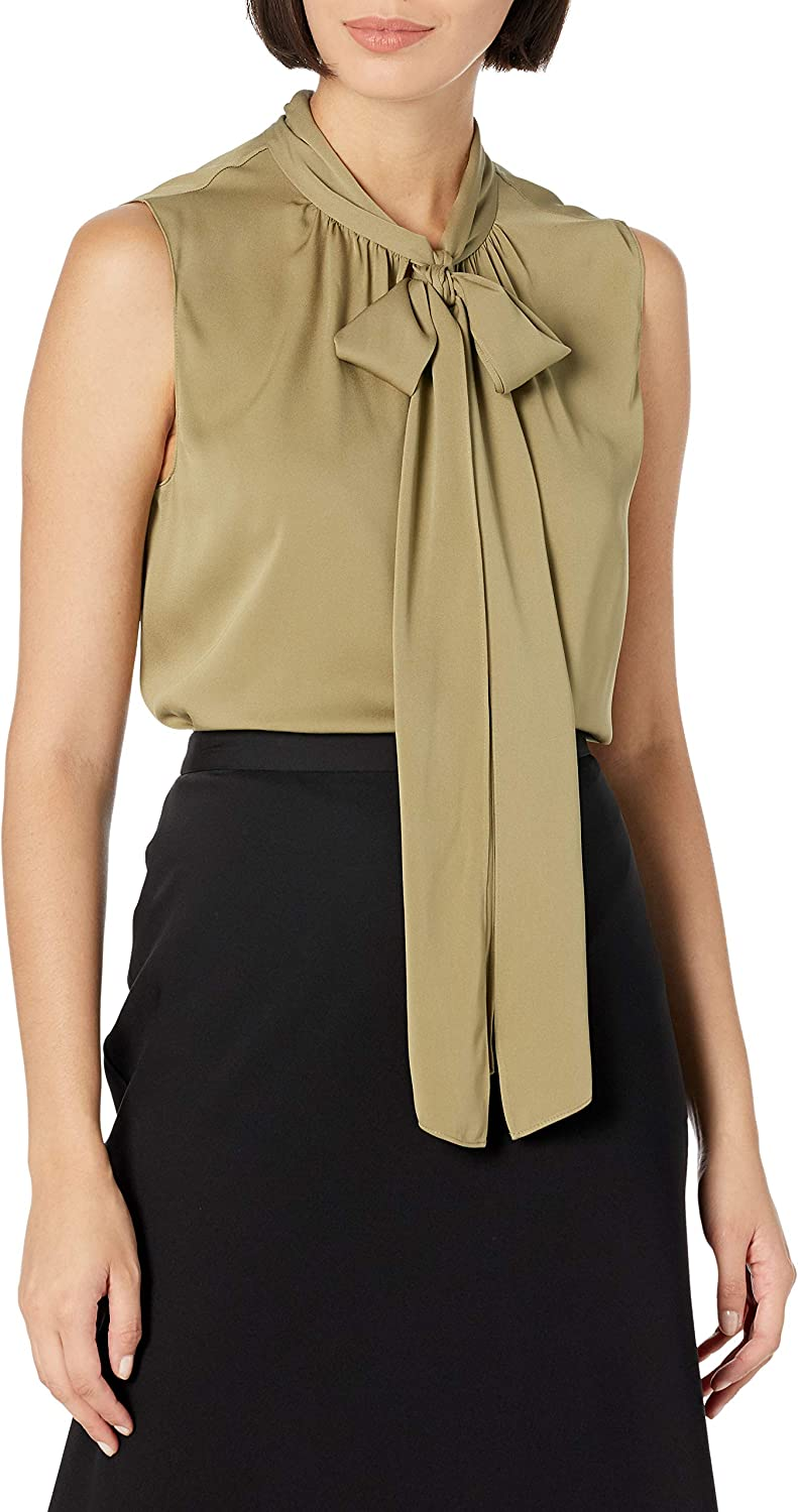 Theory Cheap mail order shopping Women's Tie Scarf Top Be super welcome