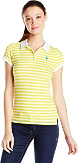U.S. Polo Shirt Assn. Junior's Stripe Jersey Polo Shirt