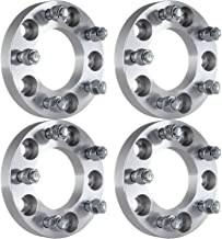 ECCPP 5x5 to 5x5 Wheel Spacers 1 Inch 5x127mm to 5x127mm Thread Pitch 1/2