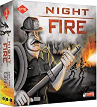 KAADOO Night FIRE - Action-Packed Cooperative Strategy Board Game for Kids 10+ & Adults - 3 Players Team-up Against 1 - Pr...