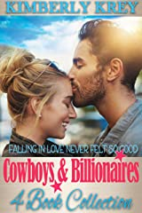 Cowboys And Billionaires: A Fun, Feel-Good 4-Book Romance Collection Kindle Edition