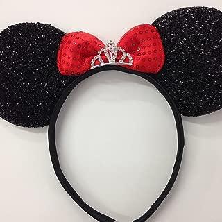 Minnie Mouse Princess Ears Headband/Disney Princess Ears