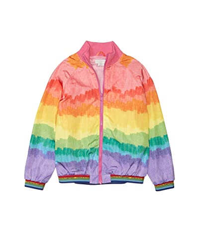 Stella McCartney Kids Rainbow Bomber Jacket (Toddler/Little Kids/Big Kids) (Multi) Girl