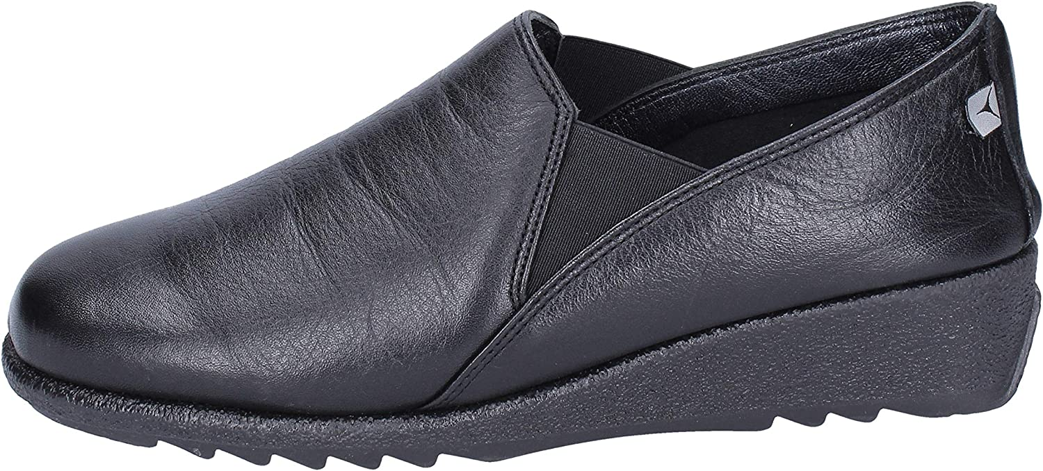 CINZIA SOFT Loafers-shoes Womens Leather Black