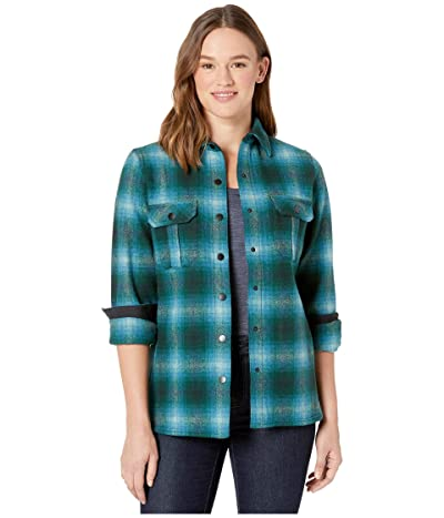 Smartwool Anchor Line Shirt Jacket (Everglade) Women