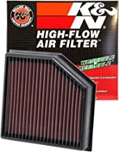K&N engine air filter, washable and reusable: 2013-2016 Dodge Dart 33-2491
