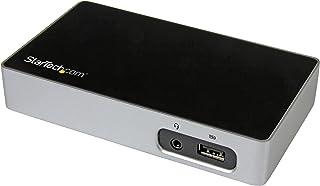 StarTech.com 4K DisplayPort Docking Station for Laptops - USB 3.0 - Universal Laptop Docking Station - 4K Ultra HD Dock