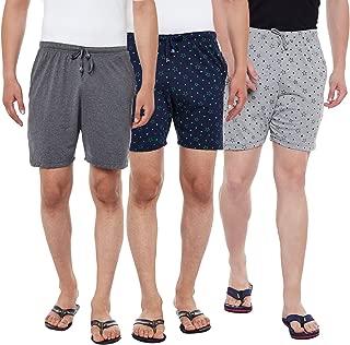 VIMAL JONNEY Multicolor Cotton Shorts for Men(Pack of 3) (D11-AN_PRTM_PRTN_003-P)