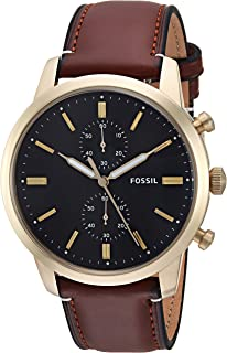 Fossil Townsman 44mm cronógrafo reloj