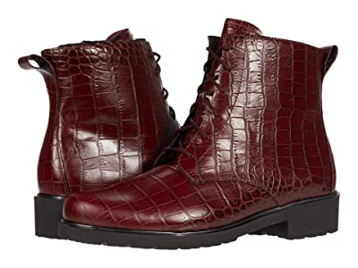 Munro Finnley (Red Croc/Metallic Welt) Women