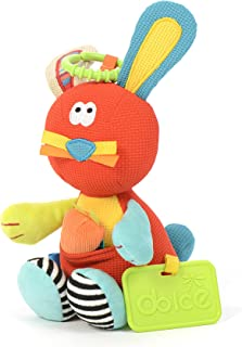 Dolce Dolce Bunny Plush Interactive Stuffed toy , Piece of 1