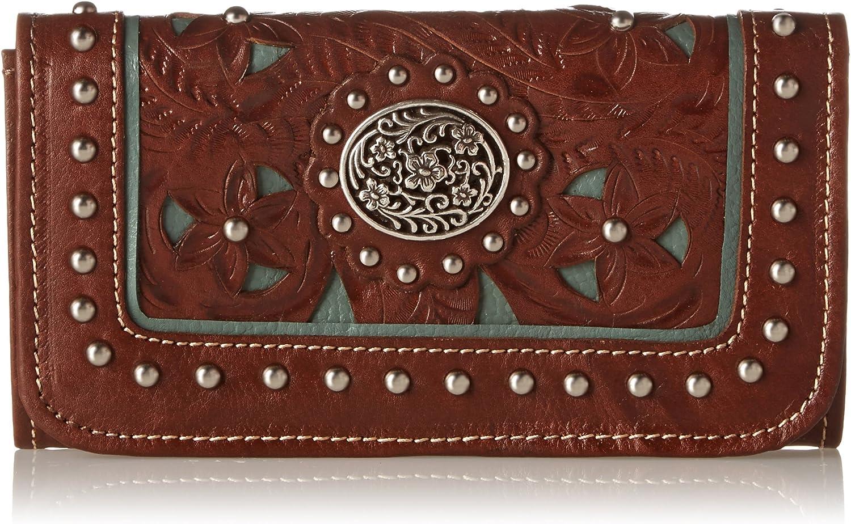 shipfree Sale SALE% OFF American West Lady Tri-Fold Lace Wallet
