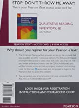 Qualitative Reading Inventory, Enhanced Pearson eText -- Access Card (6th Edition)