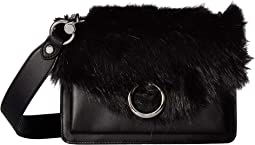 Faux Fur Jean Crossbody