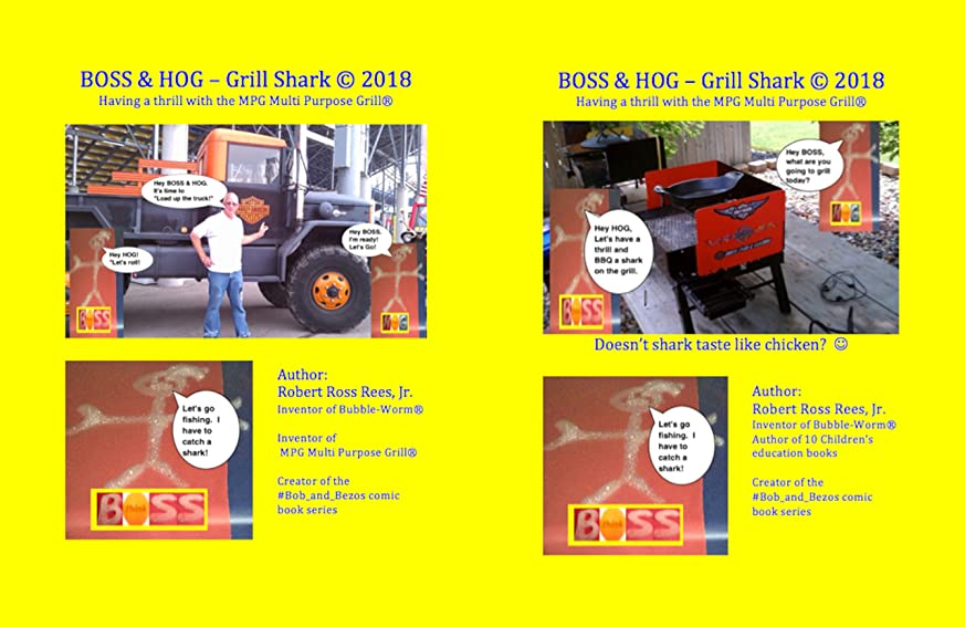 労苦必要条件クッションBOSS & HOG – Grill Shark ? 2018: Having a thrill with the MPG Multi Purpose Grill? (English Edition)