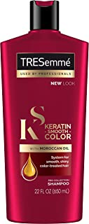 Tresemme Shampoo Keratin Smooth Color With Moroccan Oil 22 Ounce (650ml)