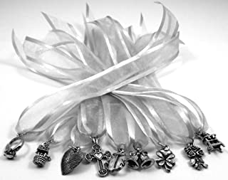 (9) Pewter Cake Pull Charms Brides - Weddings
