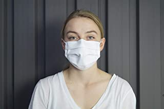 MedX5 10x Universal Community Masks Made of 100% Cotton, Double Layer, Oeko Text 100 Standard, Made in The EU, Washable and ironable, with Efficiency Test According to EU Standard CWA 17553:2020.