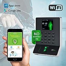 $129 Get WL20 Biometric Fingerprint Time Attendance Terminal Time Clock Attendance Machine Payroll Recorder Employee Checking-in Recorder