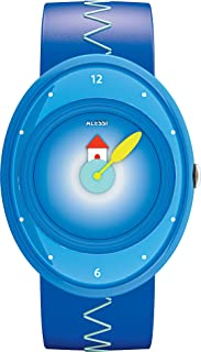 Alessi Kids AL20000 Millennium Jr. Blue Strap with House Watch