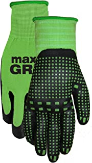 MidWest Gloves and Gear 93P03-SM-AZ-6 Max Gripping Glove, Green