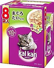 カルカン パウチ 成猫用 1歳から まぐろ たい入り 70g×8袋入り [キャットフード]