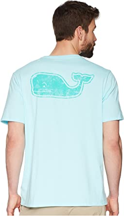 Short Sleeve Vintage Whale Fill Pocket Tee