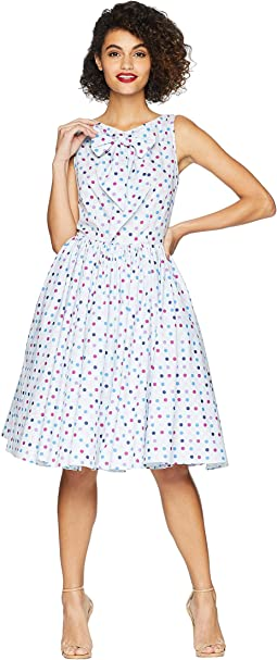 53d2e786d1d Vince vintage polka dot crossover slip dress