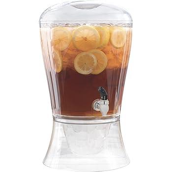 CreativeWare 3galones dispensador de bebidas, Indestructible, Transparente, 1