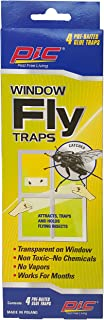 PIC Window Fly Traps, 4Count - FTRP
