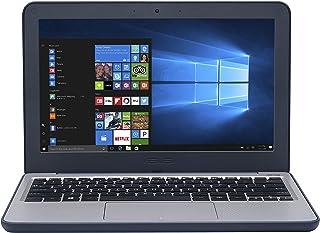 華碩 VivoBook E201NA-GJ008T-OSS 11.6 英寸高清筆記本電腦 - (藍色/灰色)(英特爾賽揚雙核 N3350,4 GB 內存,64 GB eMMC,Windows 10)