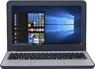 华硕 VivoBook E201NA-GJ008T-OSS 11.6 英寸高清笔记本电脑 - (蓝色/灰色)(英特尔赛扬双核 N3350,4 GB 内存,64 GB eMMC,Windows 10)
