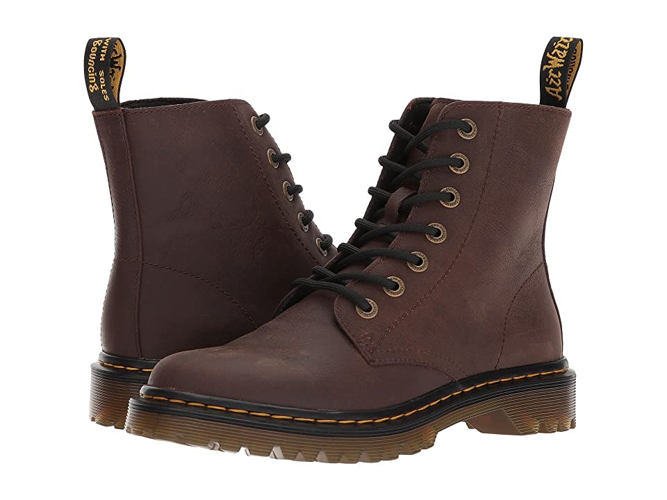 Dr. Martens Luana (Dark Brown Newark) Boots