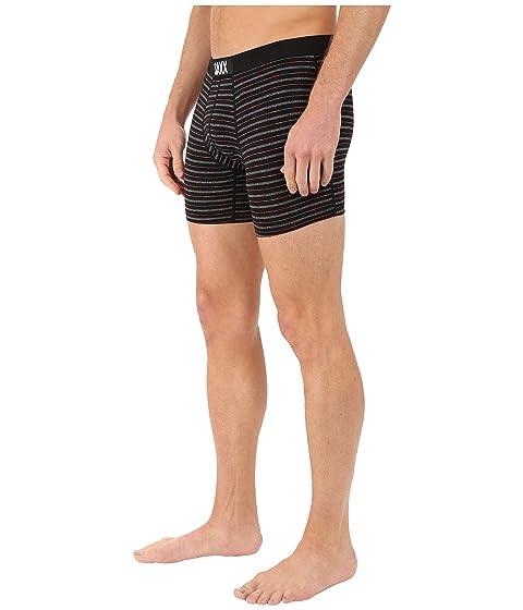 BRAZO Gradient Stripe INTERIOR SAXX Black Fit Modern Boxer Vibe TvTnAwBq