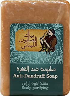 Bayt Al Saboun Al Loubnani Anti Dandruff Rectangular Hair Treatment Soap, 150 Gm
