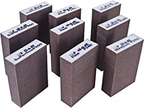 S&R Schuursponsset 9 stuks, 100 x 70 x 25 mm, slijpblokken, handschuurmachine, 3 korrels, medium 3 x P180, fijn 3 x P240, ...