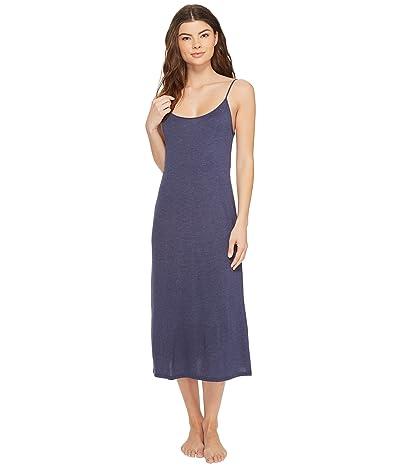 Natori Shangri-La Gown (Heather Night Blue) Women