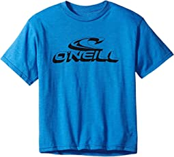 O'Neill Kids - Extras Short Sleeve Tee Screens Imprint (Big Kids)