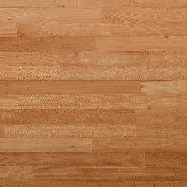 Krok Wood Paris Banc en Bois Massif en hêtre 100x35x45 cm