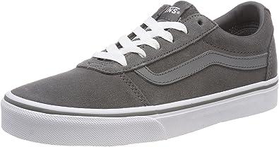 Amazon.com | Vans Women's Ward Suede Low-Top Sneakers | Shoes