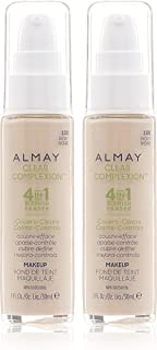 Almay Clear Complexion 4 in 1 Blemish Eraser, 100 Ivory