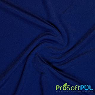ProSoft Waterproof 2 mil PUL Fabric (Made in USA, Sports Navy, sold by the yard)